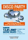 13.01.2007: Discoparty